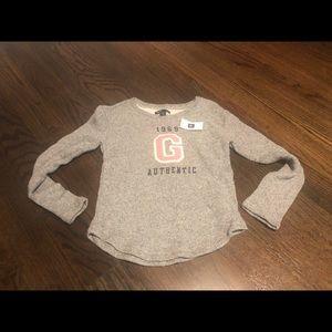 Gap crew neck sweatshirt size small (6/7)NWT